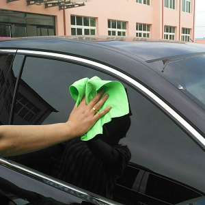 Customized thick chicken basics microfiber car care cleaning cloth pva chamois towel