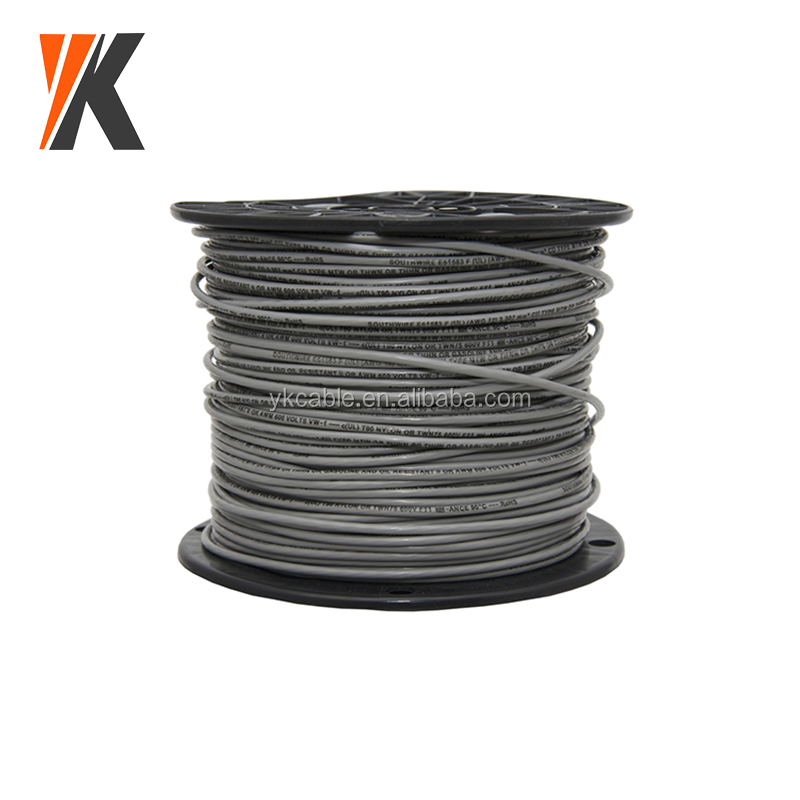 Type THHN/THWN cable awm 300v vw-1 18 awg single core cable