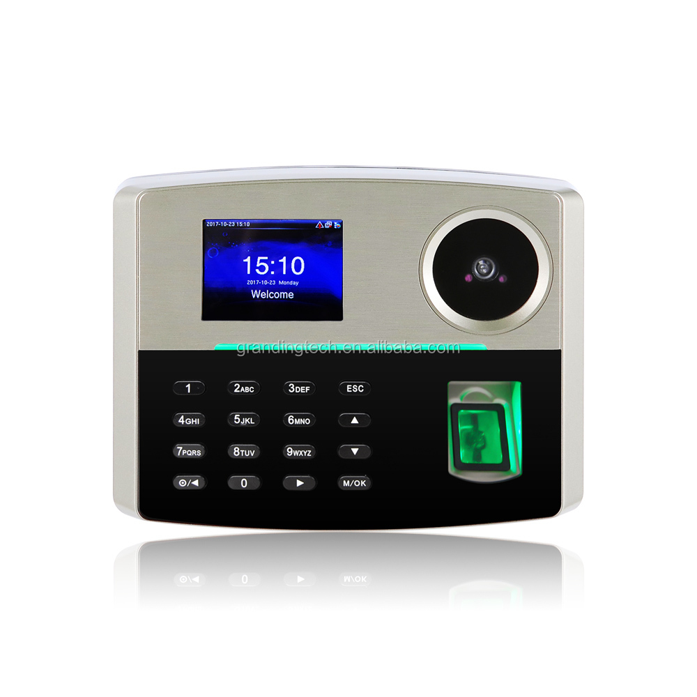 Android OS Wifi & Bluetooth & GPS portable fingerprint time attendance Biometric attendance machine with camera (GT168)