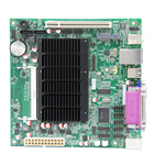 Intel ATOM D2550 Dual core 1.86G Fanless Pos Mini-ITX Motherboard with 8 USB and 1000M Lan (2 Lan option)