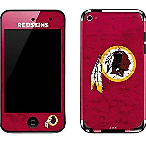 NFL Washington Redskins iPod Touch (4th Gen) Skin - Washington Redskins Distressed Vinyl Decal Skin For Your iPod Touch (4th Gen)