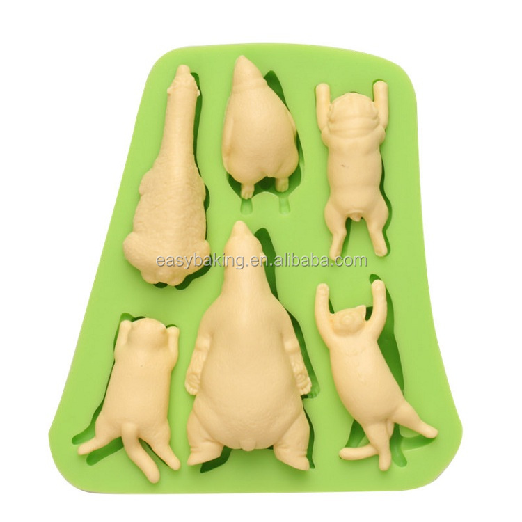 ES-0045 Animal Themed Silicone Molds Fondant Mould for cake decorating.jpg