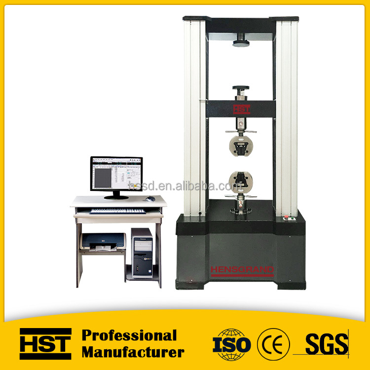 Manufacture supply WDW 10KN 1TON electronic universal material tensile testing equipment price
