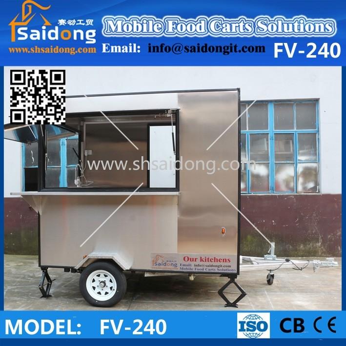 Kiosco Jugo/comida Móvil Camión/remolque/barra De Café Diseño - Buy ...