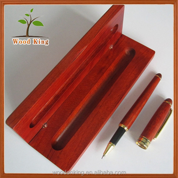 Innovative Products 2017 Rosewood Pen Boxed Set Custom Logo Wood Pen