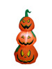 90cm/3ft new inflatable three layers orange pumpkin for Halloween decoration