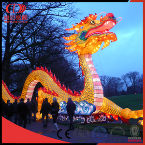 Dragon shaped lantern
