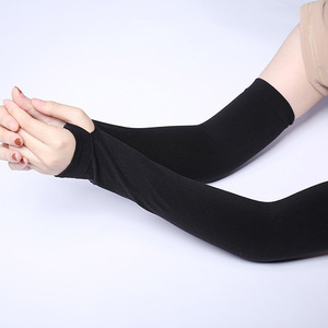 Promotion Long Arms Sun Protection Nylon Gloves With Free Sample