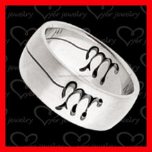High quality 316L cheap wholesale men stainless steel ring, wedding ring jewelry
