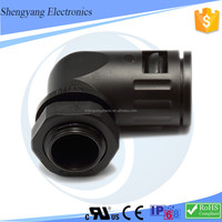 Wholesale High Quality Hdpe Pipe Fitting 90 degree Elbow 29MM Quick Connector
