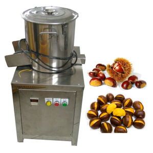 Exporter standard electric industrial chestnut peeling machine for commercial using