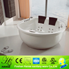 With pillow acrylic free standing bath tubs,circle massage bathtub