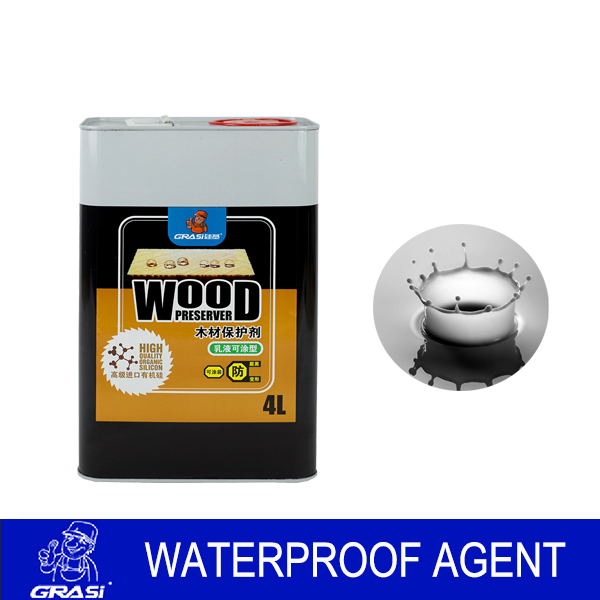 WH6990 The cabin craft pollution prevention and waterproof excellent water based paint