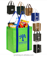 Cheap Wholesale Bulk Personalized Non-Woven Grocery Tote Bags
