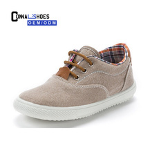 Connal Wholesale Custom Comfortable Casual Latest Stylish Blank Child Canvas Shoes