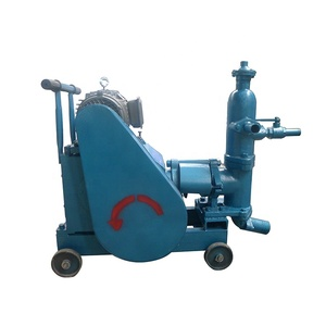 Small cement grout pump slurry jet grouting machine single liquid