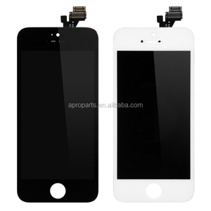 4.0 inches High Quality AAA For iPhone 5 5S 5C LCD Display Touch Digitizer Full Assembly Black White Color LCD Screen