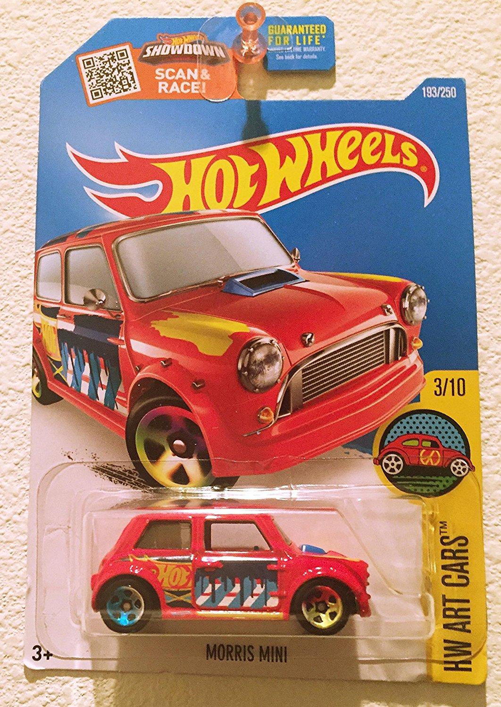 Hot Wheels 2016 Hot Wheels Case E Morris Mini 193 Art Cars