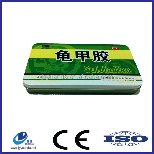 China tin can manufacturer latest health care products beverage can with CMYK printing