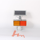 Highly recognizable Solar Power Street Traffic Signal LED Strobe Light with Excellent performance
