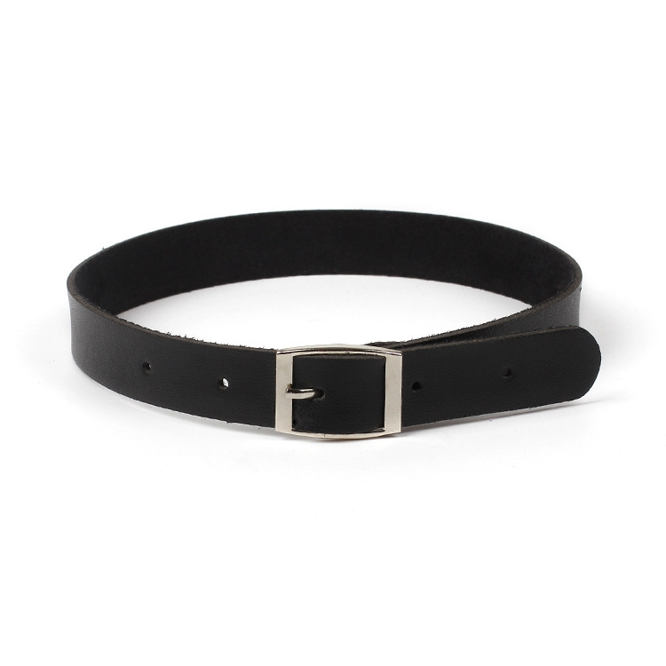 Y-002 Fashion Chokers For Women Black Leather Choker Necklace Chocker Necklace