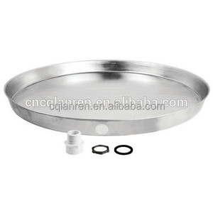 "Diameter from 18"" to 30"" Aluminium water heater drain pan/ for both electric and gas water heaters"