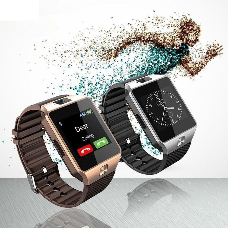 2019 CE Rohs Bracelet Phone Android DZ09 Support Fitness Smartwatch Sport Call MP3 <strong>SIM</strong>