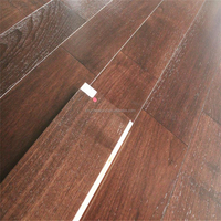 6mm Wear Layer 6 Feet Wide High Gloss Brushed Dark Stained Direct Factory Price American Black Walnut Engineered Wood Flooring