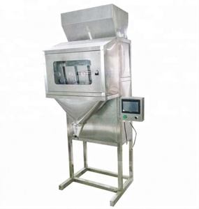 High Quality Solid Particle Weighing Filling Machine / Edible Seeds Oil Filling Factory