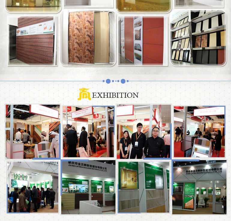 Non-asbestos Wood Grain Fiber Cement Board at best in Dark Grey Color