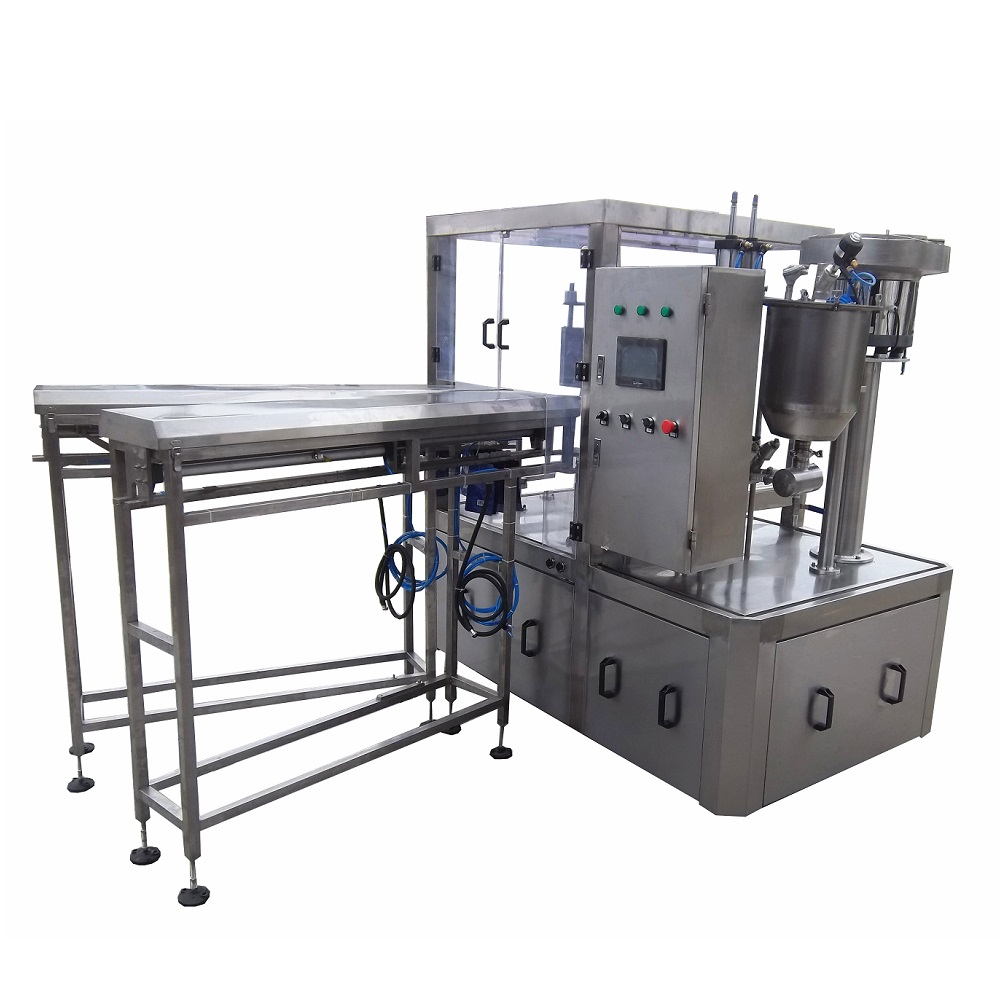 Very useful high speed juice stand up pouch spout pouch filling and capping machine
