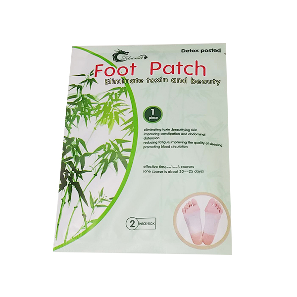 Adhesives Detox Foot Patch Bamboo Pads Patches With Adhesive Improve Sleep Beauty Slimming Pads