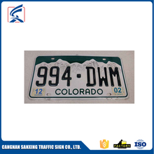 OEM Service Souvenir License Plate Wholesale License Plate Making