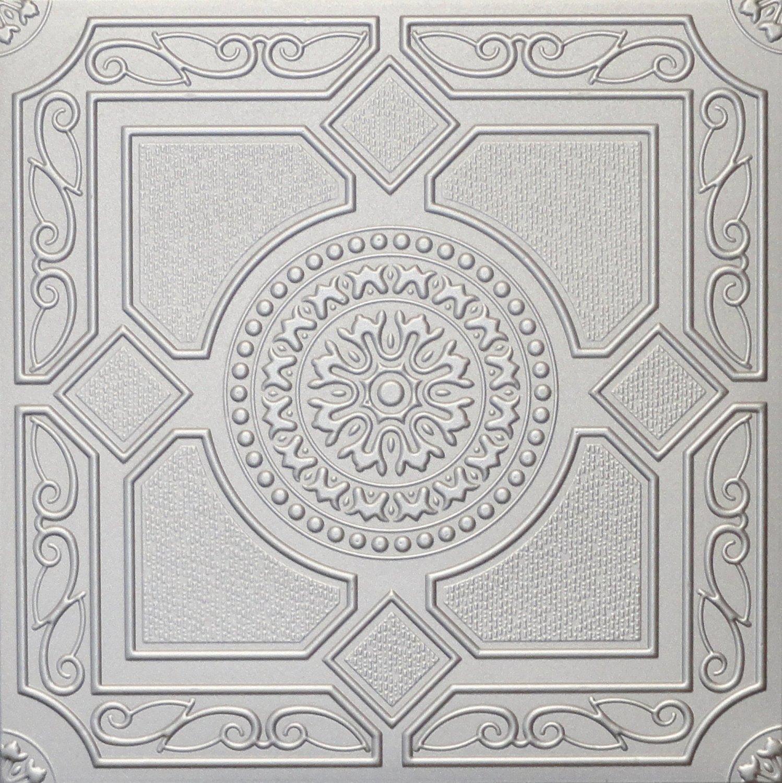 Buy R30s Silver 20x20 Amazing Styrofoam Tin Look Ceiling Tiles Easy