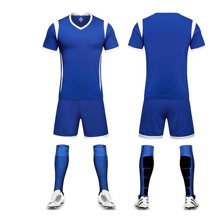 2019 Team new style customized Blank Design shirt maker soccer football club jersey thailand quality new model football jersey