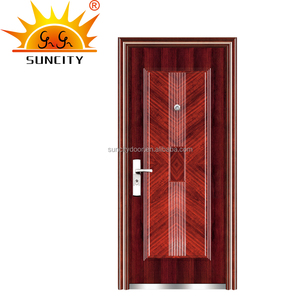 Used commercial metal shed door SC-S093