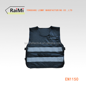Kids Clothes Black Reflective Stripes Kids Safety Vest For Children children hi vis vest