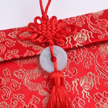 Chinesische Merkmale Angepasst Rote Stoffe Design Hochzeitsgeschenk Geld Schöne Kleine Geschenk Umschlag Buy Kleines Geschenk Stoffe