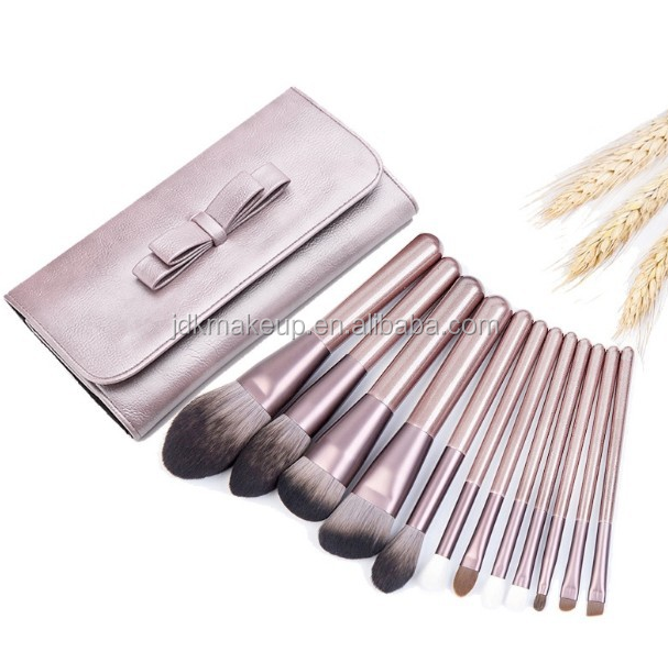 18-tlg Kosmetik-Pinsel-Set Professionelle Pinsel Set Make-up Pinsel PU Leder Tasche