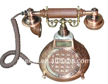 Carving Pattern Base Old Times Telephone - Buy Old Telephone,Vintage Old  Telephone,Telephone Set Product on Alibaba com