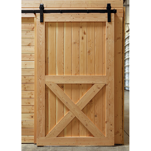 "36'""x84"" Unfinished Solid Wood Core Interior Barn Door Slab Panel Inserts,solid wood panel door"