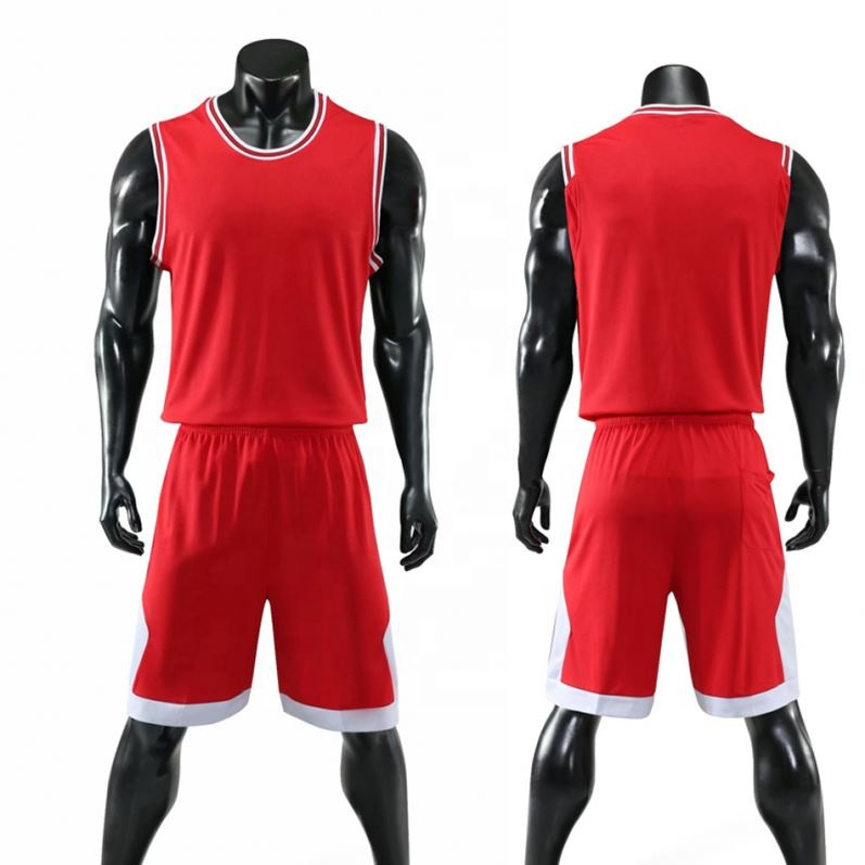 Benutzerdefinierte Herren Sport Anzug Sublimation Basketball Uniform Jersey
