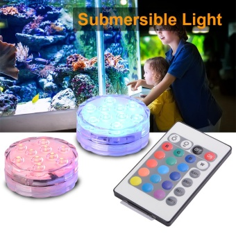 ip68 battery operated Submersible led underwater light led color changing lights for swimming pool
