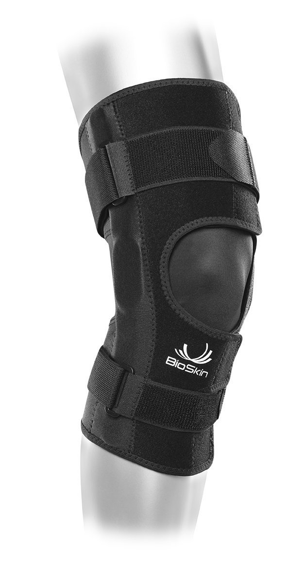 f1818bc319 Get Quotations · Front Closure Lightweight Hinged Knee Brace - Relieve Pain  and Support ACL, MCL, Meniscus