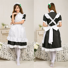 2015 nuevo live love lovely Cafe maid outfit juego Japonés disfraces cosplay uniforme