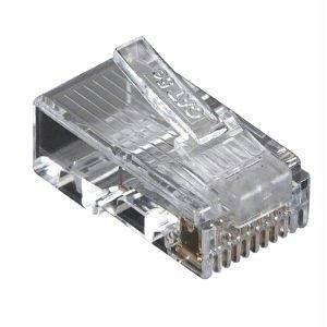 "Black Box Network Services Cat5e Mod Plug Unshld 100 Pack - By ""Black Box Network Services"" - Prod. Class: Network Hardware/Network Accessory / Other"