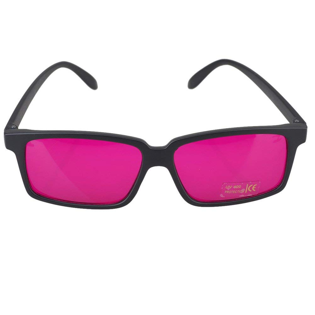 1b6c97d61fc3 Get Quotations · Square Color blindness Corrective Glasses Color Blind for  Man Women Red Green Color Blind Vision Care