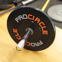 Professional Weight Lifting Equipment Weight Plates Rubber