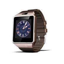 Hoge Kwaliteit Grote Batterij 380 mah Smartwatch DZ09 <span class=keywords><strong>Touch</strong></span> Screen BT Smart Horloge
