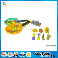 CHEAP MINI PLASTIC FOOD AND VEGETABLE KITCHEN TABLEWARE PLAY TOYS SET